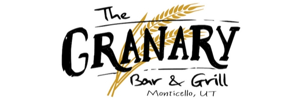 Monticello, UT granary bar and grill logo